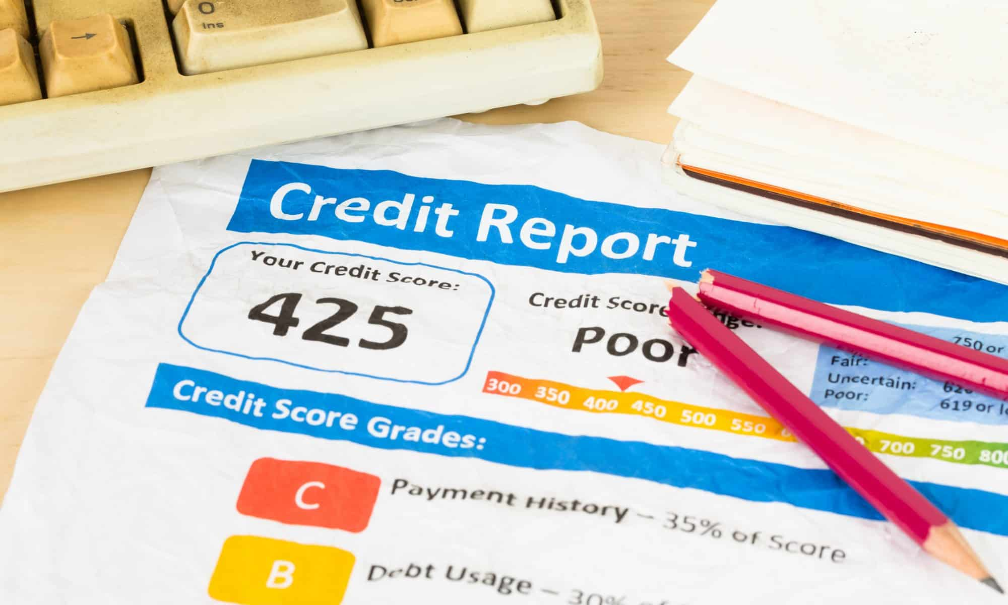 """The """"Multiples"""" Mistakes that Ruin Your Credit Score"""